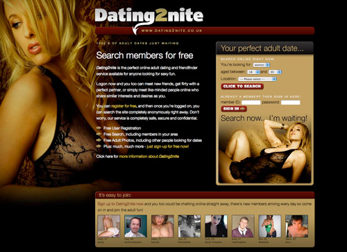 Free us adult dating site