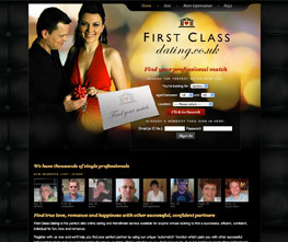 Visit www.FirstClassDating.co.uk - elite online dating for professionals